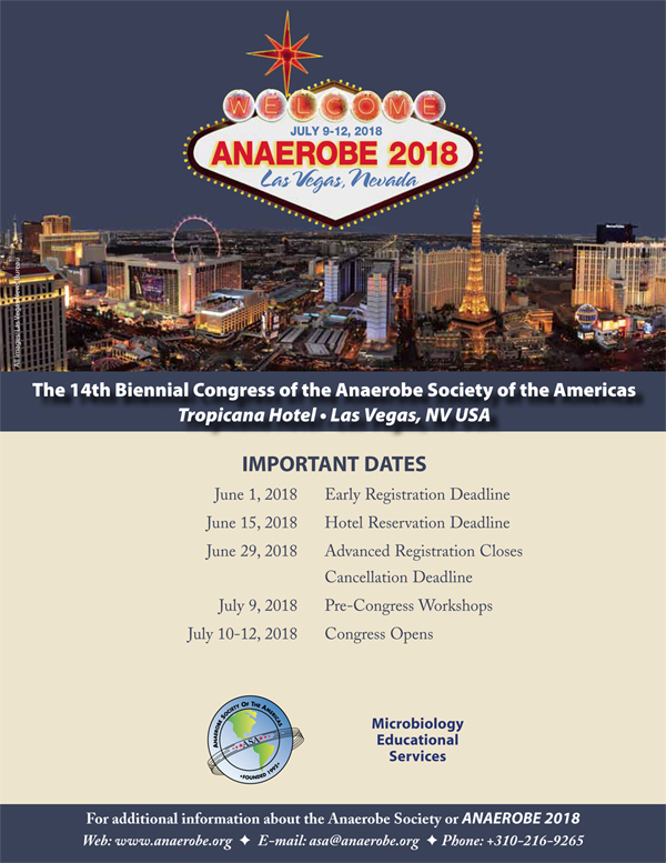 Anaerobe 2018 Brochure